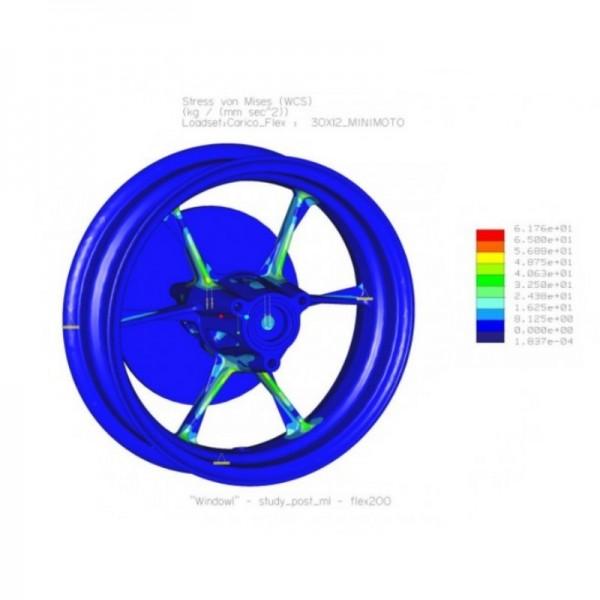 Cerchi VMC 3 Fori Alluminio