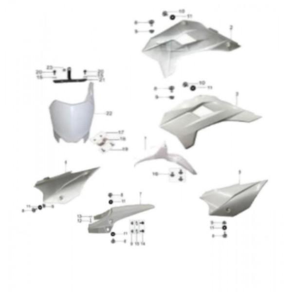Plastiche KAYO TT Kit Completo